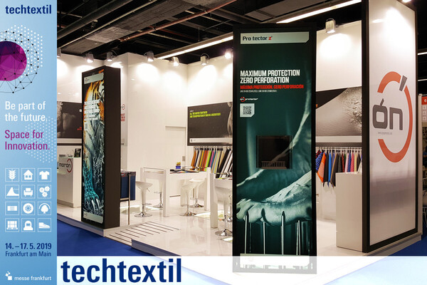 Ortopedia y Nanoflash de Morón en Techtextil 2019